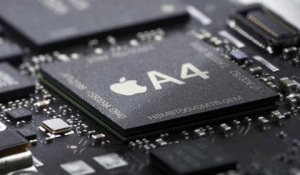 Apple's A4 processor used in iPad and the iPhone 4