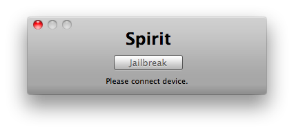 Spirit Jailbreak for the iPad, iPhone and the iPod touch is an untethered Jailbreak