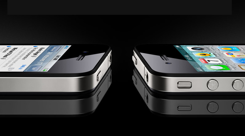 The iPhone 4 is 34% slimmer than iPhone 3GS