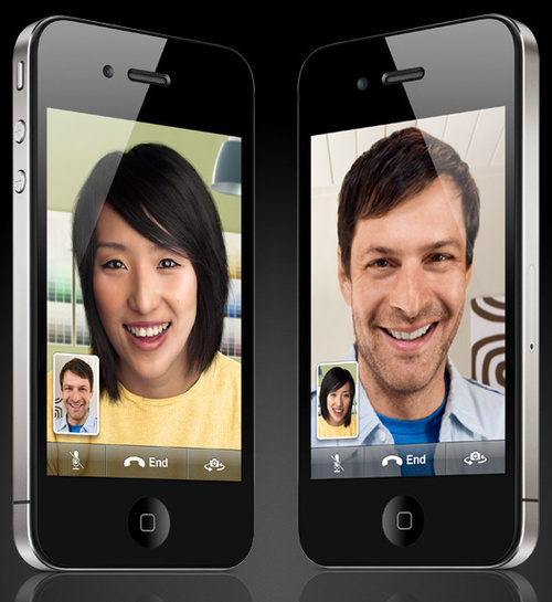 Video calling with Apple's FaceTime(via Wifi, 3G support not yet available)