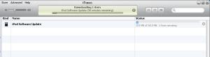Downloading iOS 4 in order to update [Optional]