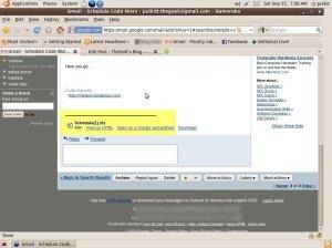 Gmail Exel/XLS convert to HTML
