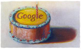 Google's 12th birthday