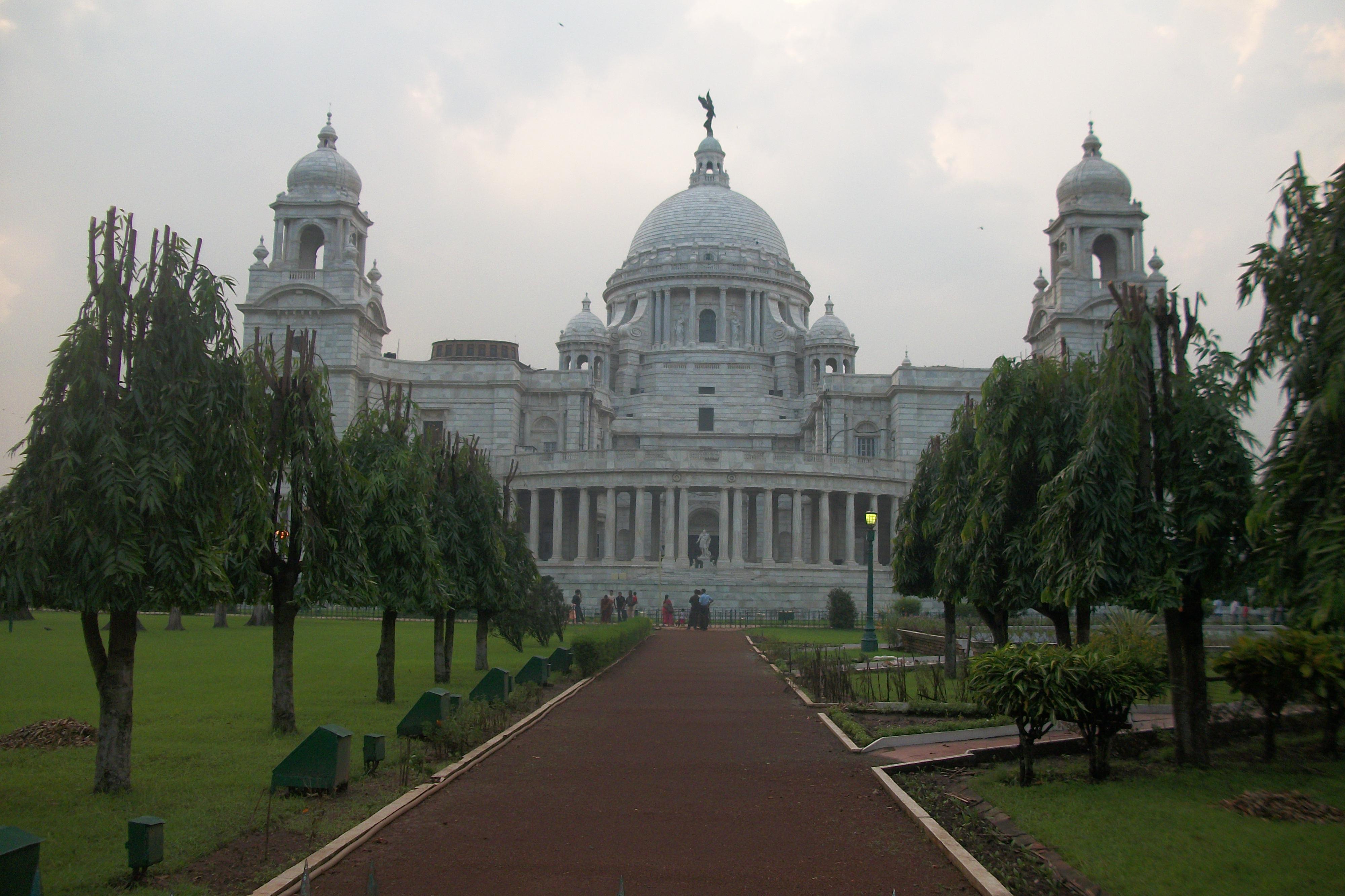 Victoria Memorial's back-Kolkata