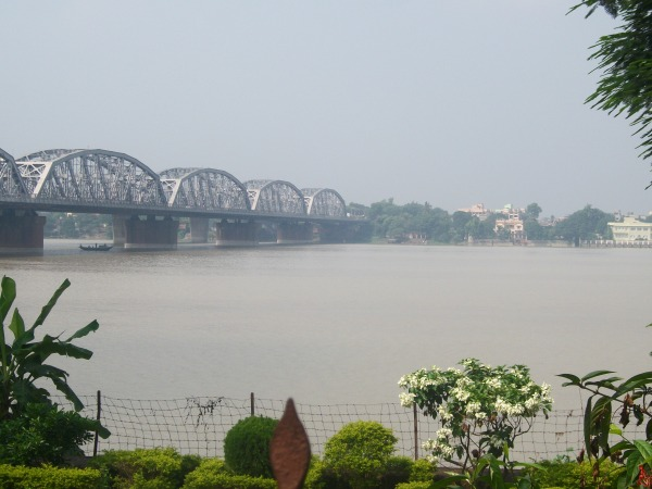 The New Howrah Bridge on the river Hoogly-Kolkata