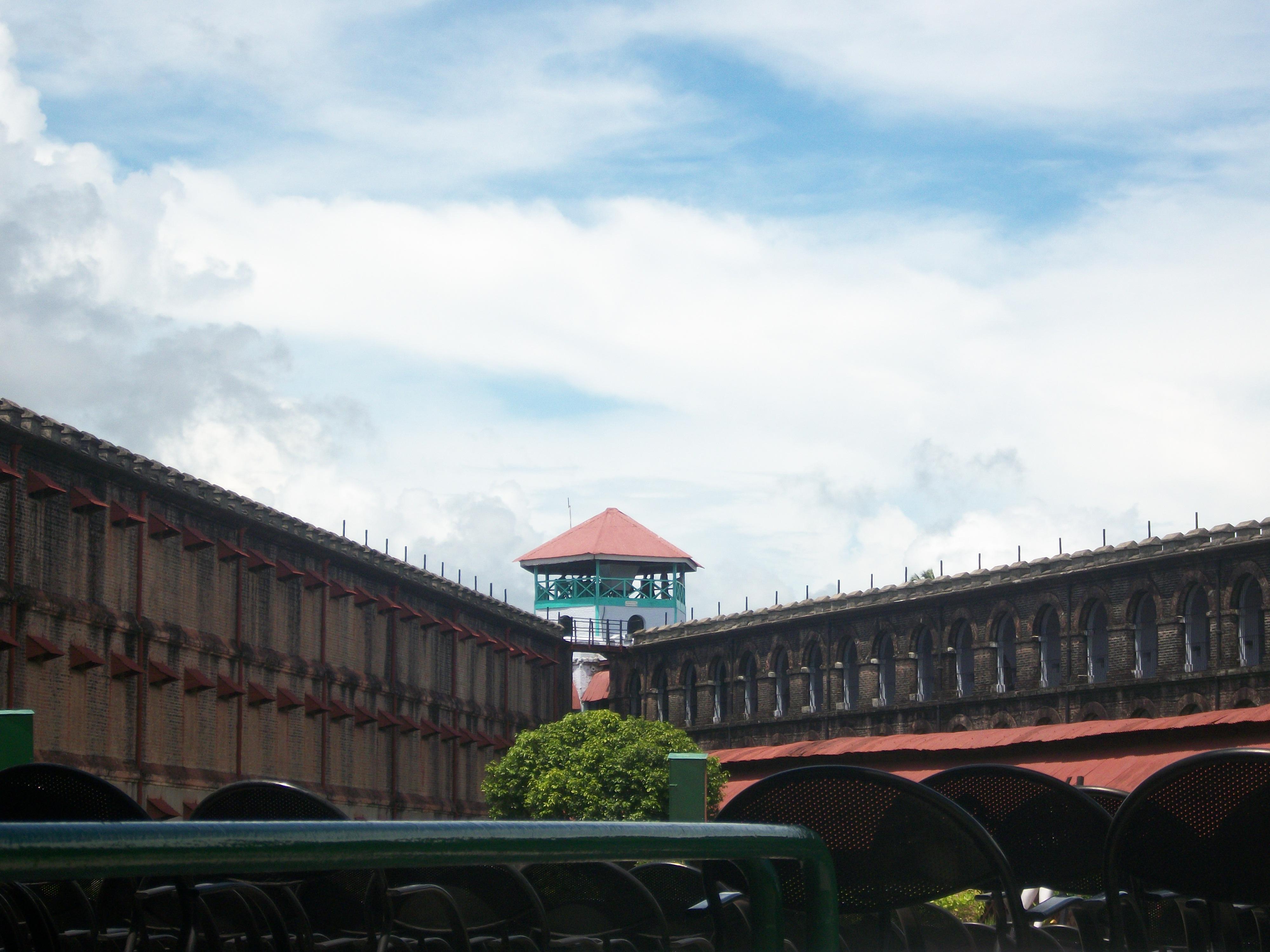 The Cellular Jail (Kala Pani)-The main watch Tower-Port Blair-Andaman and Nicobar