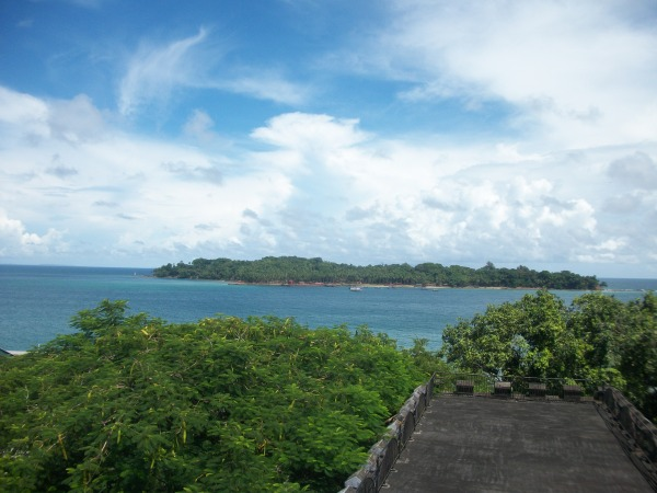 The Cellular Jail (Kala Pani)-View from the top of one building-Port Blair-Andaman and Nicobar