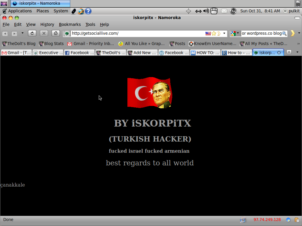 iSKORPiTX (Turkish Hacker)
