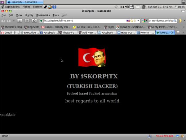 iSKORPiTX (Turkish Hacker)